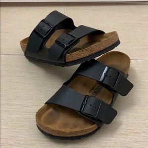 Birkenstock Arizona Birko-flor Sandals- Black